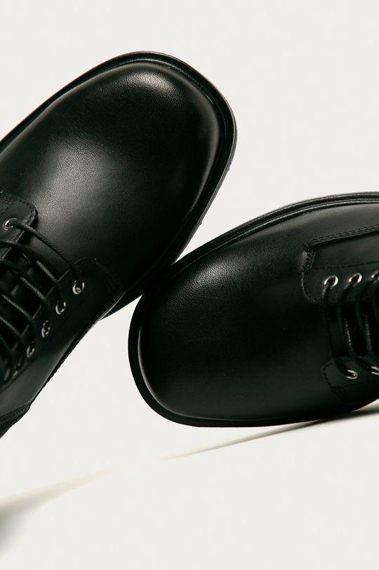 černá Vagabond - Kožené kotníkové boty Tara
