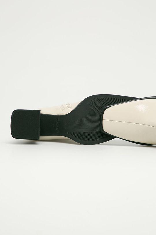 bílá Vagabond - Kožené kotníkové boty Hedda