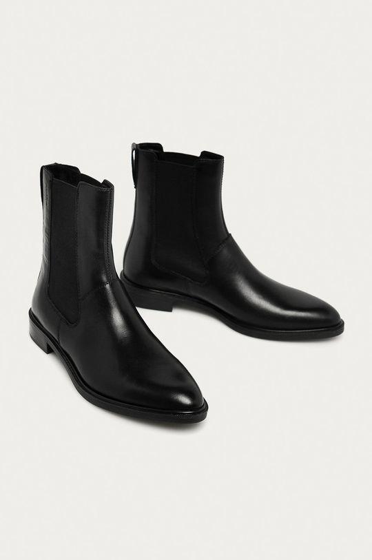 Vagabond - Шкіряні черевики Frances чорний