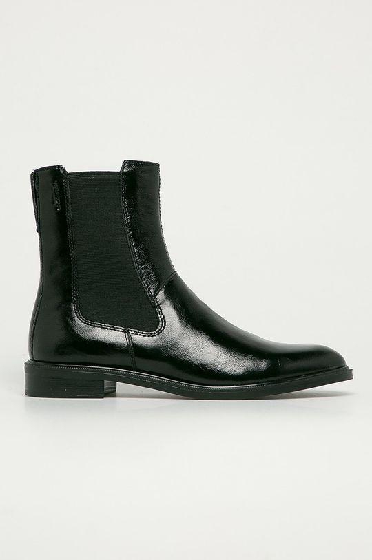 černá Vagabond - Kožené kotníkové boty Frances Dámský