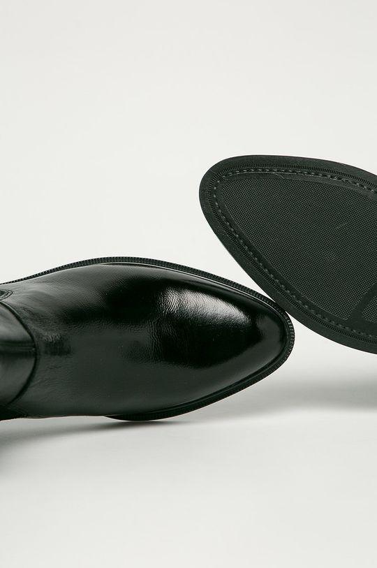 černá Vagabond - Kožené kotníkové boty Frances