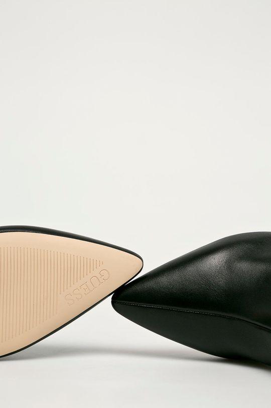 чорний Guess Jeans - Шкіряні черевики