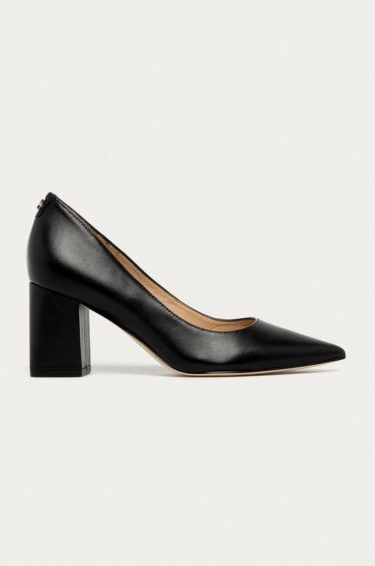 чорний Guess Jeans - Шкіряні туфлі Жіночий