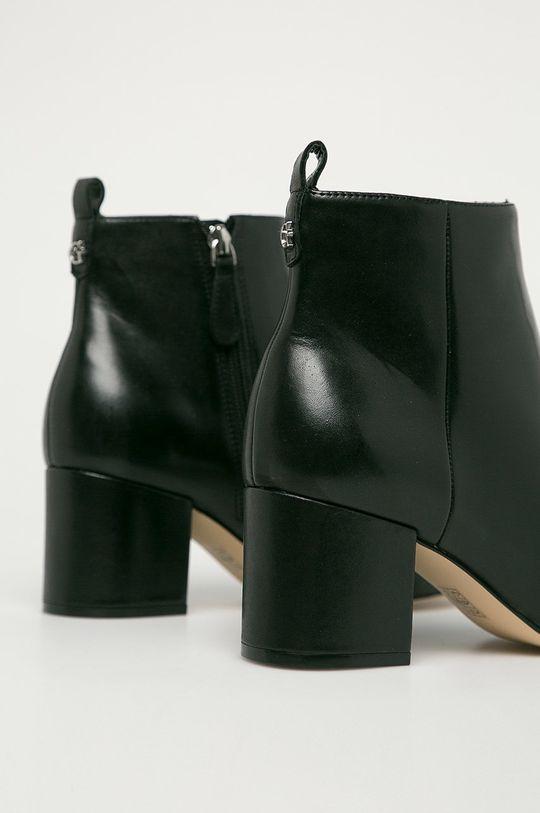 Guess Jeans - Kožené kotníkové boty  Svršek: Přírodní kůže Vnitřek: Umělá hmota, Textilní materiál, Přírodní kůže Podrážka: Umělá hmota
