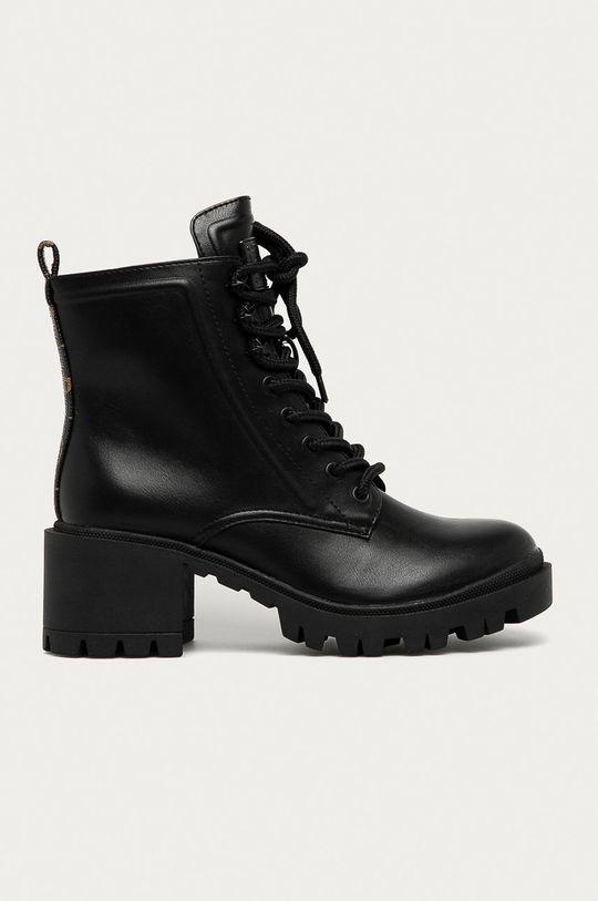 negru Guess Jeans - Botine De femei