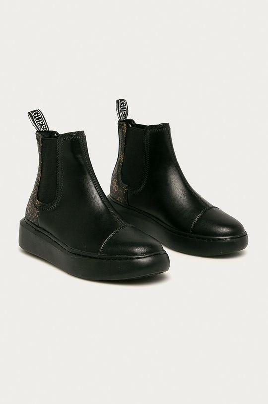 Guess Jeans - Черевики чорний