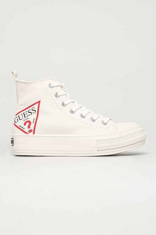 biały Guess Jeans - Trampki Damski