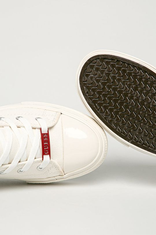biały Guess Jeans - Trampki