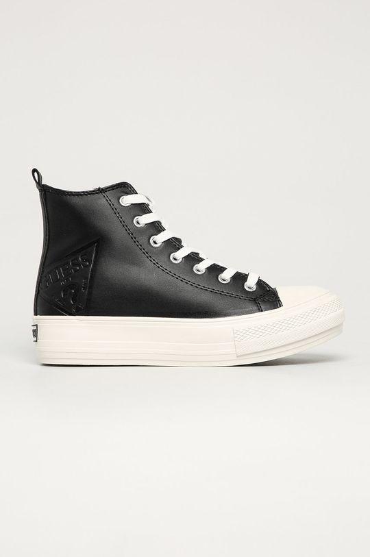 czarny Guess Jeans - Trampki Damski