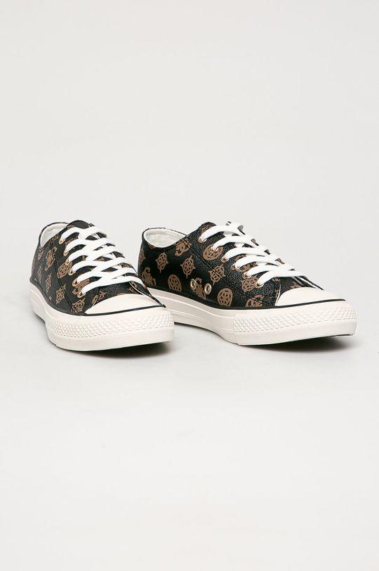 Guess Jeans - Tenisówki brązowy