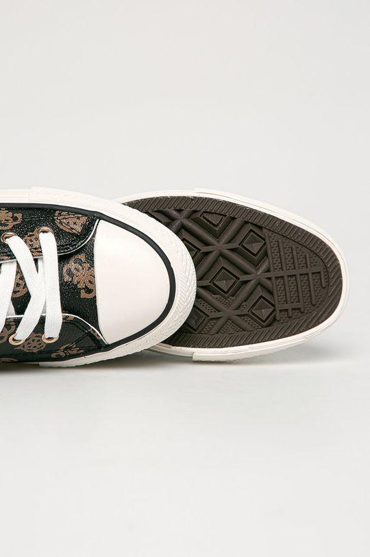 brązowy Guess Jeans - Tenisówki