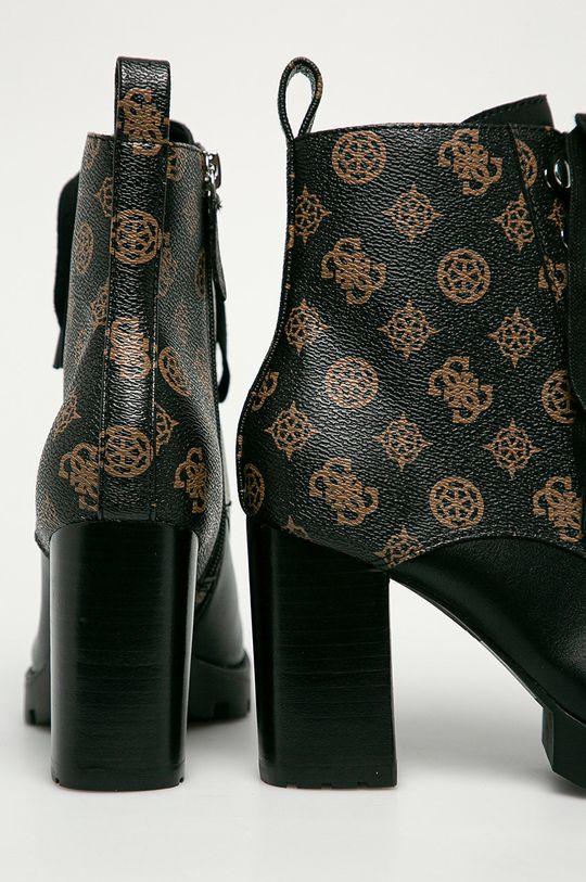 Guess Jeans - Черевики  Халяви: Синтетичний матеріал Внутрішня частина: Синтетичний матеріал, Текстильний матеріал, Натуральна шкіра Підошва: Синтетичний матеріал
