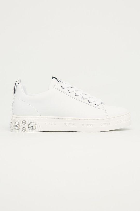 biela Guess Jeans - Topánky Dámsky
