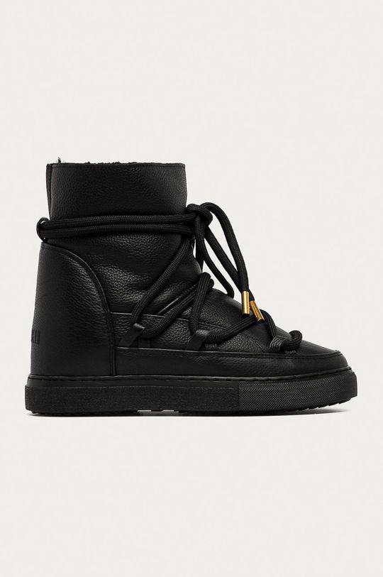 чорний Inuikii - Шкіряні чоботи Жіночий
