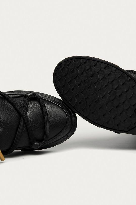 чорний Inuikii - Шкіряні чоботи
