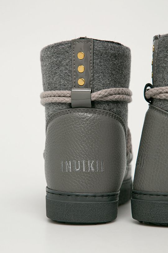Inuikii - Śniegowce Felt Cholewka: Materiał tekstylny, Skóra zamszowa, Wnętrze: Wełna, Podeszwa: Materiał syntetyczny