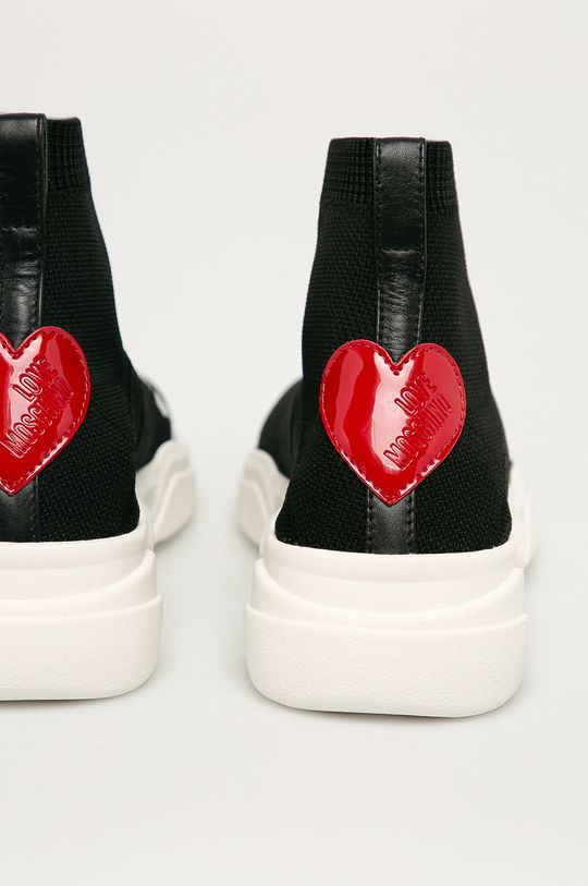 Love Moschino - Boty  Svršek: Umělá hmota, Textilní materiál Vnitřek: Textilní materiál Podrážka: Umělá hmota