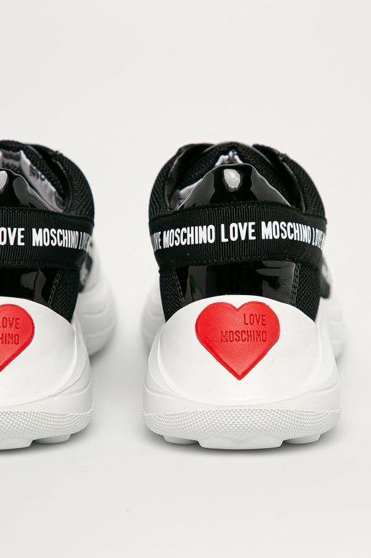 Love Moschino - Pantofi  Gamba: Material textil, Piele naturala Interiorul: Material textil, Piele naturala Talpa: Material sintetic