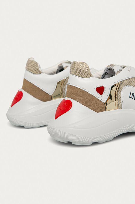 Love Moschino - Шкіряні черевики  Халяви: Текстильний матеріал, Натуральна шкіра, Замша Внутрішня частина: Текстильний матеріал Підошва: Синтетичний матеріал