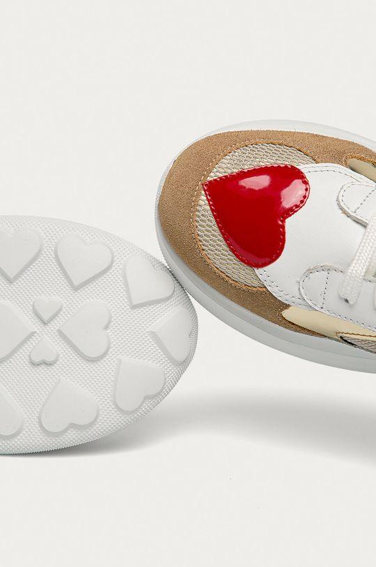 білий Love Moschino - Шкіряні черевики