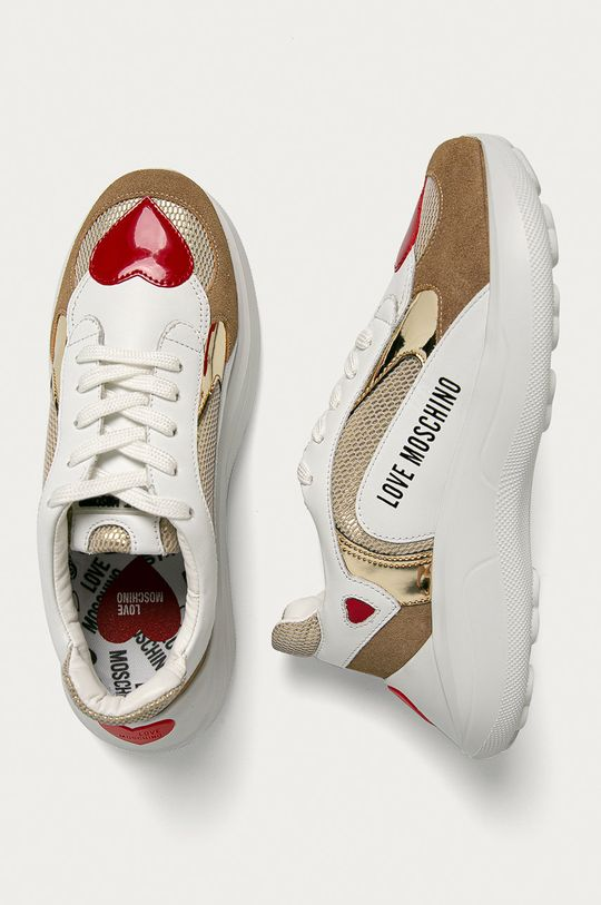 Love Moschino - Шкіряні черевики Жіночий