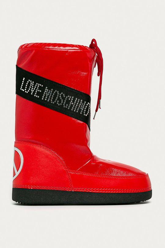 червоний Love Moschino - Зимові чоботи Жіночий
