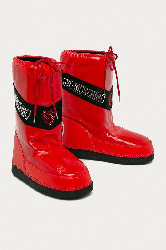 Love Moschino - Зимові чоботи червоний
