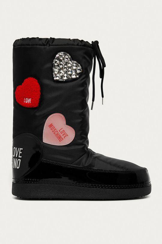 чорний Love Moschino - Зимові чоботи Жіночий