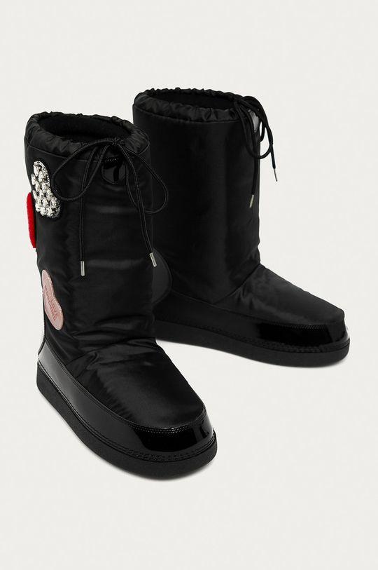 Love Moschino - Зимові чоботи чорний