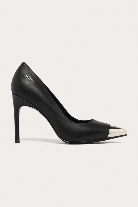 чорний Liu Jo - Шкіряні туфлі Жіночий