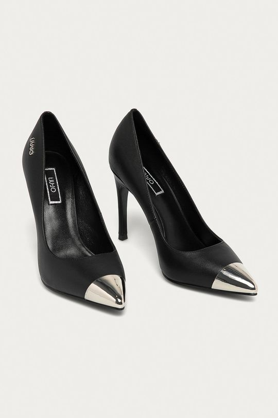 Liu Jo - Шкіряні туфлі чорний