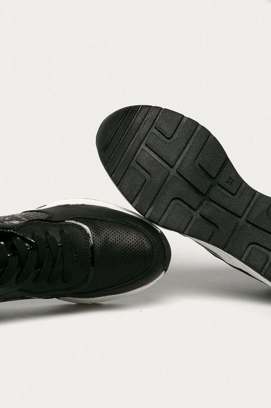 čierna Marco Tozzi - Topánky