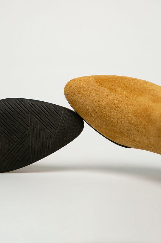 horčicová Marco Tozzi - Členkové topánky