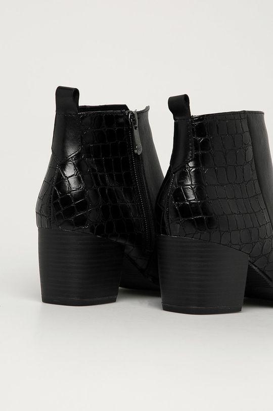 Marco Tozzi - Botine  Gamba: Material sintetic, Piele naturala Interiorul: Material textil Talpa: Material sintetic