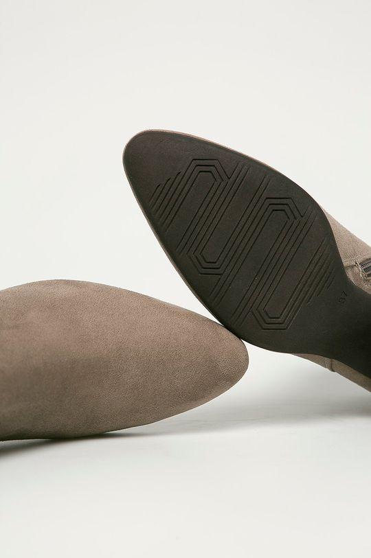sivá Marco Tozzi - Členkové topánky