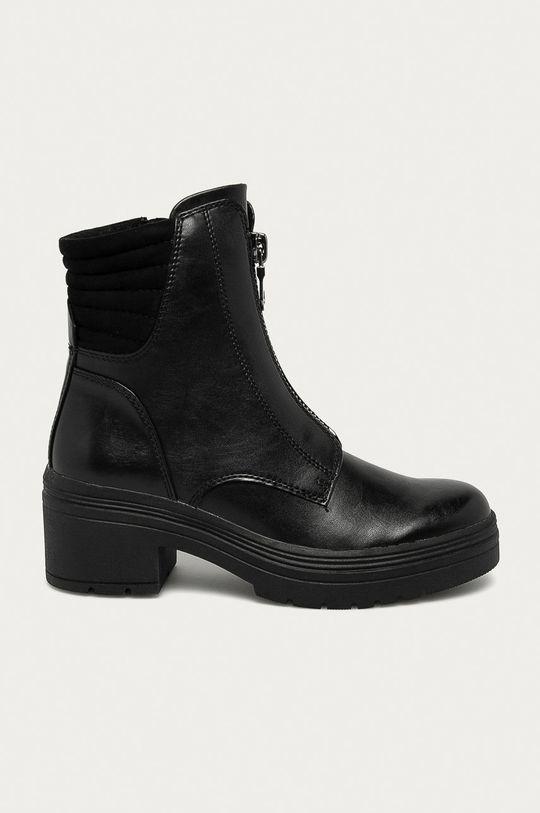 čierna Marco Tozzi - Členkové topánky Dámsky
