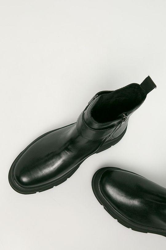 Marco Tozzi - Kožené členkové topánky Dámsky