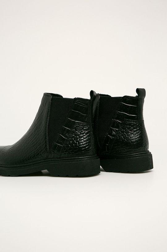 Marco Tozzi - Kožené kotníkové boty  Svršek: Přírodní kůže Vnitřek: Umělá hmota, Textilní materiál Podrážka: Umělá hmota