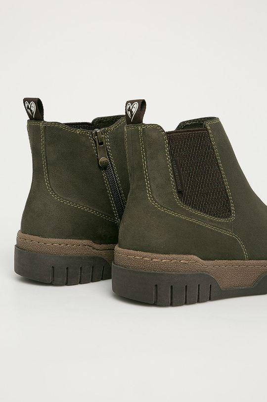 Marco Tozzi - Členkové topánky  Zvršok: Textil Vnútro: Textil Podrážka: Syntetická látka