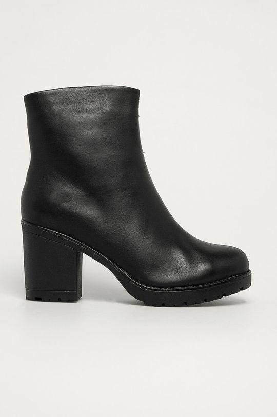 negru Marco Tozzi - Cizme de piele De femei