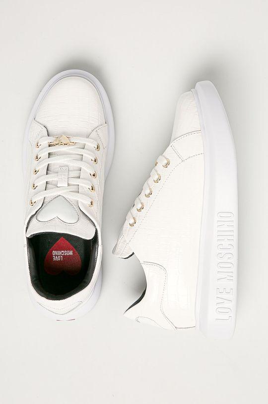 Love Moschino - Kožené boty Dámský