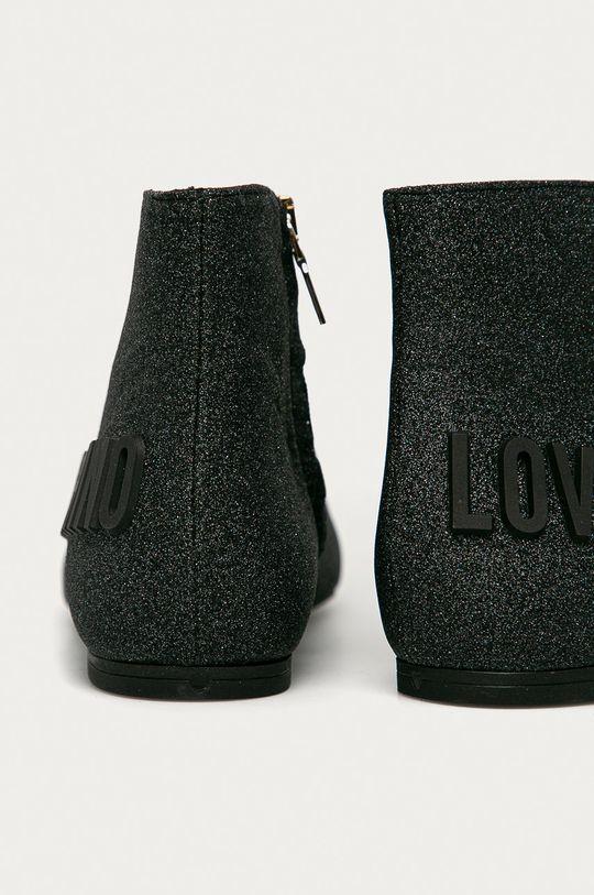 Love Moschino - Nízké kozačky  Svršek: Textilní materiál Vnitřek: Přírodní kůže Podrážka: Umělá hmota