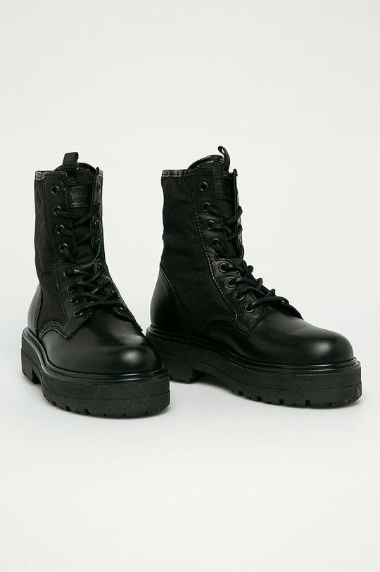Tommy Jeans - Workery czarny