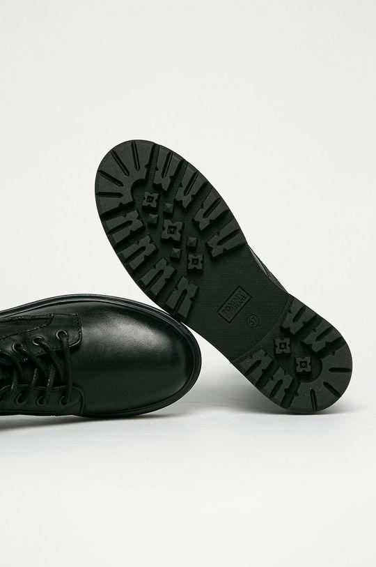 czarny Tommy Jeans - Workery