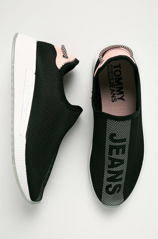 czarny Tommy Jeans - Buty