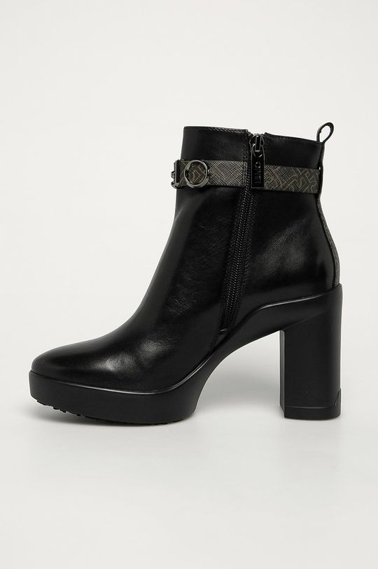 Liu Jo - Kožené kotníkové boty  Svršek: Umělá hmota, Přírodní kůže Vnitřek: Textilní materiál, Přírodní kůže Podrážka: Umělá hmota