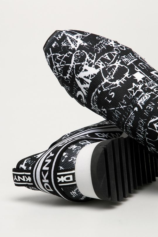 černá Dkny - Boty