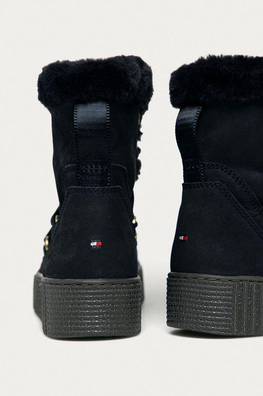 Tommy Hilfiger - Śniegowce Cholewka: Materiał tekstylny, Skóra naturalna, Wnętrze: Materiał tekstylny, Podeszwa: Materiał syntetyczny