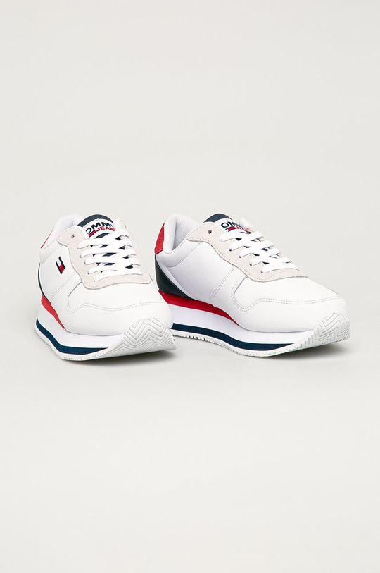 Tommy Jeans - Pantofi alb