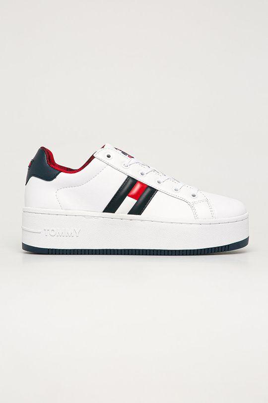 biela Tommy Jeans - Topánky Dámsky